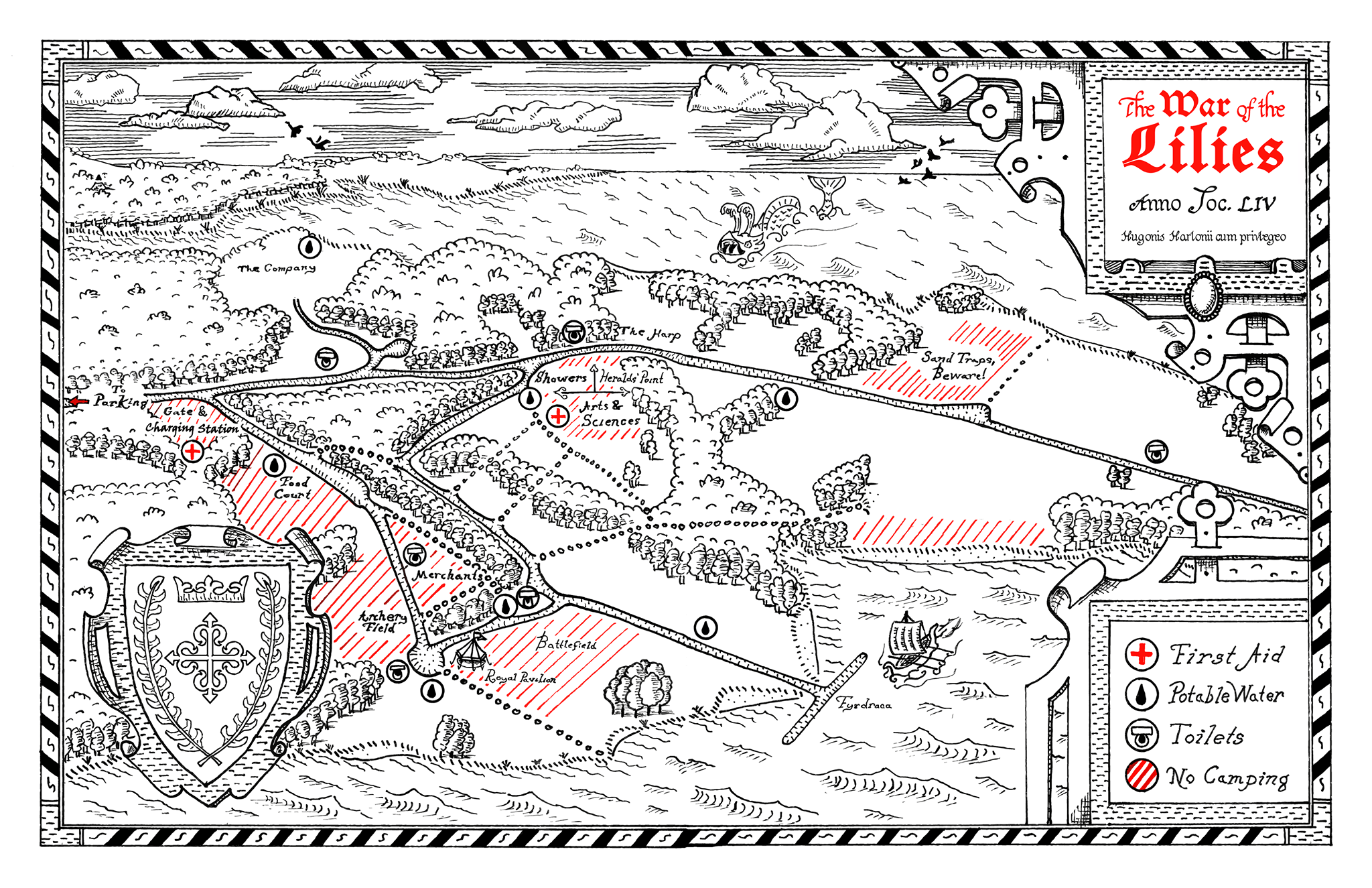 Lilies Map